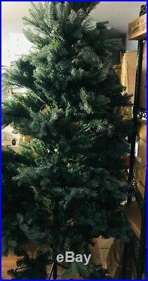 7.5 ft. Pre-Lit PE Balsam Fir Artificial Christmas Tree with 600 UL lights 15938