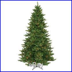7.5′ ft x 55 Camdon Fir Christmas Holiday Tree with Multi-Color Lights