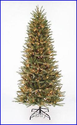 7.5′x44 Midwestern Pine Artificial Christmas Tree with400 Clear Lights