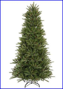 7.5′ x 52 Vermont Instant Shape Artificial Christmas Tree with Multi-Color Lights