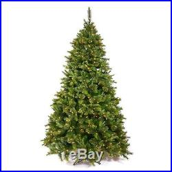 7.5′ x 55 Cashmere Pine Artificial Christmas Tree with Multi-Color lights