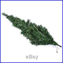 7 Foot Green Fiber Optic Pre-Lit Christmas Tree Home Holiday Living Decoration