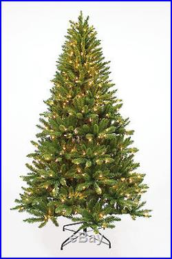 7′ x 50 Evergreen Spruce Artificial Holiday & Christmas Tree with500 Clear Lights