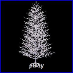 7ft White Winterberry Branch Tree LED Lights Christmas Indoor Outdoor Home Decor