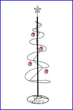 84 Metal Ornament Display Artificial Christmas Tree Spiral Stand Hook Hanger