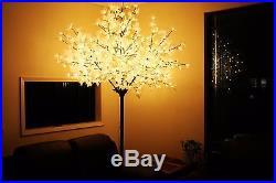8.2′H, 600 LED Maple Tree Lights Floor Lamp, Xmas/Party/Holidays, Patio/Landscape