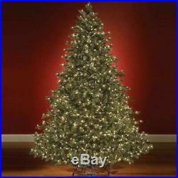 8.5′ Full Multi-Color Hammacher World's Best Prelit Noble Fir Christmas Tree