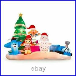 8 FT Rudolph's Isle of Misfit Toys Airblown Inflatable Lighted Yard Decor
