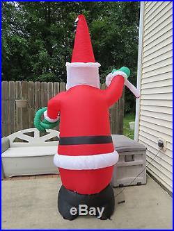 8' Inflatable Santa Claus Christmas Lighted Winter Yard Decor BXD 10