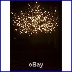 8ft Christmas Light Tree Cherry Blossom Flower With 600 LED Tree Light Decorat