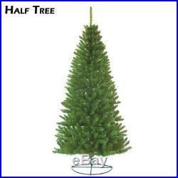 8ft Half Tree Christmas wallmounted freestanding corner