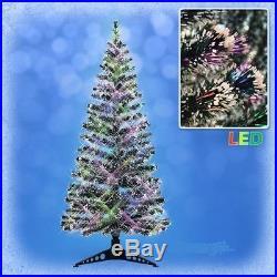 90 cm LED Weihnachtsbaum mit farbwechselnde Lichtfasern