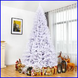 9Ft Hinged Artificial Christmas Tree Premium Pine Tree 2132 Tips withMetal Stand
