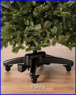 9' Balsam Hill Woodland Spruce Flip Narrow 56 Christmas Tree with Easy Plug