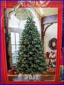 9 Feet Christmas Pre-Lit Artificial Evergreen Tree