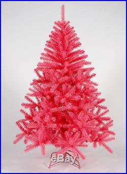 9 Foot Queen Spruce PINK Artificial Christmas Tree Unlit