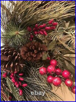 9 Frontgate Holiday Collection Acorn Valley Garland Withbox -Christmas Decor
