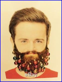 9 Fun Novelty Clip On Beard Baubles Facial Hair Clips Secret Santa Xmas Gift