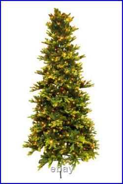 9′ ft Bethlehem Noble Christmas Spruce Tree with Swift Lock & Multi Light Function