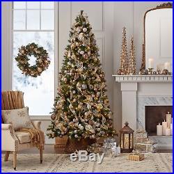9 ft PreLit LED Color-Changing Slender Virginia Pine Christmas Tree +Storage Bag