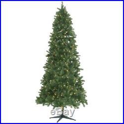 9 ft. Pre-Lit LED Grand Duchess Slim Pine Quick Set Artificial Christmas Tree