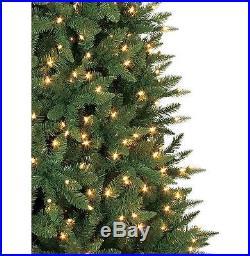 9 Ft Slim Christmas Tree Decorations Pre Lit Xmas Lights