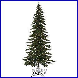 9′ x 46 Pre-Lit Ridgeline Alpine Artificial Christmas Tree with LED Lights