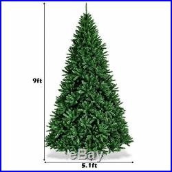 9ft Decor Artificial Christmas Tree Unlit Douglas Full Fir Tree with 3594 Tips
