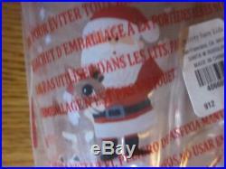 9pc Pottery Barn Kids Santa Rudolph Reindeer Tablecloth