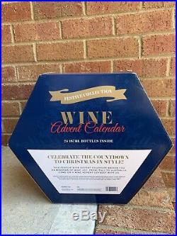 ALDI Festive Collection Wine Advent Calendar Christmas Countdown 24 Bottles NEW