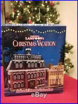Christmas Advent House.Advent House Calendar National Lampoons Christmas Vacation
