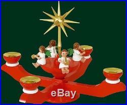 Adventsleuchter Leuchter Kerzenhalter Weihnachtsleuchter NEU Erzgebirge 00048