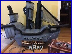 Airblown Inflatable Disney Pirates Of The Caribbean Toss Game With Pirate Storag
