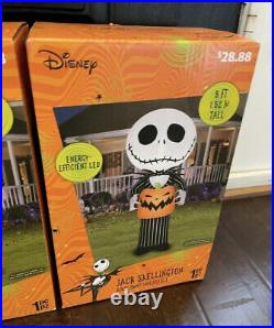 Airblown Inflatables NIGHTMARE BEFORE CHRISTMAS HALLOWEEN Disney 5 Ft Lot Of 4