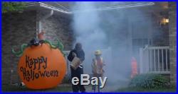 Airblown Kaleidoscope Halloween Lighted Pumpkin Inflatable Outdoor Decor Yard