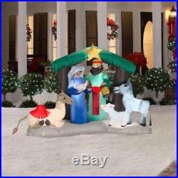 Airblown Nativity