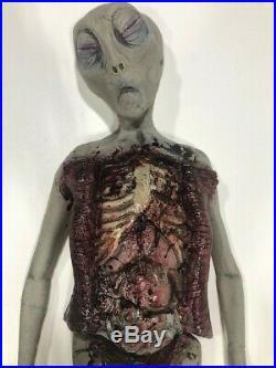 Alien Autopsy Foam Latex Tabletop Two Piece Prop Decoration Halloween