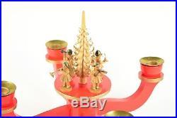 Alter ERZGEBIRGE LEUCHTER WEIHNACHTSLEUCHTER vintage christmas chandelier