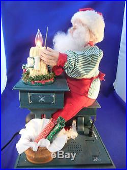 Animated Santa Christmas Display