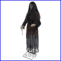 Animated Talking Witch Decoration Adult Halloween