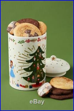 Anthropologie Rifle Paper Co. Nutcracker Cookie Jar New