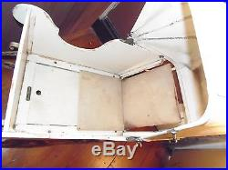 Antique Sleigh Heywood Wakefield Baby Buggy with Sleigh Runners