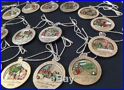 Any YEAR NEW John Deere Pewter Ornament 1998,1999 thru 2014 Choice Christmas NIB