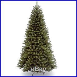 Artificial Christmas Tree 7 Foot Spruce Holiday Season Decor Indoor Tall Unlit