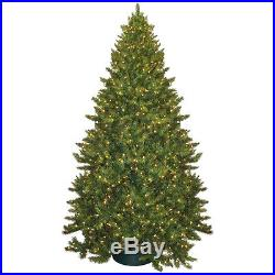 Artificial Christmas Tree 9 ft With Lights Holiday Xmas Home Decoration ig Size