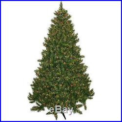 Artificial Christmas Tree Clearance Pre Lit 7 5 700 Multi