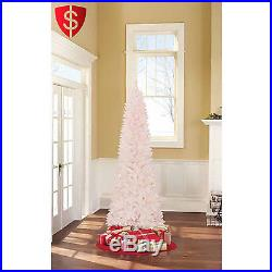 Artificial Christmas Tree Xmas Decor Lights Holiday Ornament Pine Pre-Lit 7