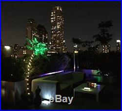 Artificial Xmas 5FT Palm Tree With 65 Lights Indoor Outdoor Plants Decor + GIFT