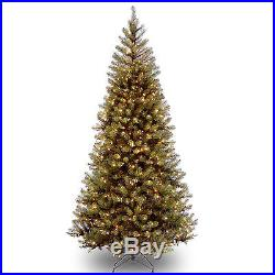 Aspen Spruce 7′ Hinged Artificial Christmas Tree with 400 Clear Lights