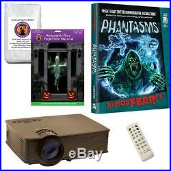 AtmosFearFX Phantasms Halloween DVD + 2 Screens (RD) + LED Projector